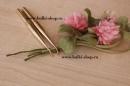 Ультратонкие японские ножи - Ультратонкие японские ножи. Набор состоит из двух лапок. Одна гладкополированая, другая с насечкой. Используются в японской технике по созданию цветка.